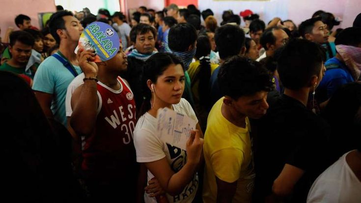 50 Biggest Elections in the World - February 2, 2018.  15. PHILIPPINES > Parliamentary election of 2016: 44,549,212 total votes > Population: 102,624,209 (total) 61,728,990 (voting age) > Voter turnout: 82.0% > Highlight of election:  Rodrigo Duterte wins the presidency with 39% of the vote.