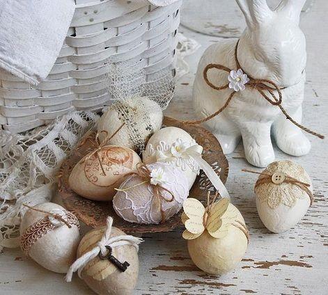 1-modele de oua de Paste ornate in stil vintage
