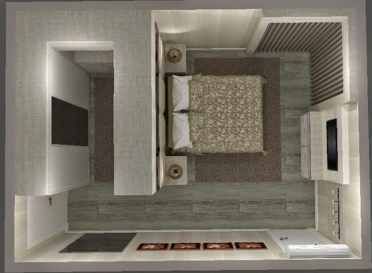 pantas de quarto com closet pequeno - Pesquisa Google