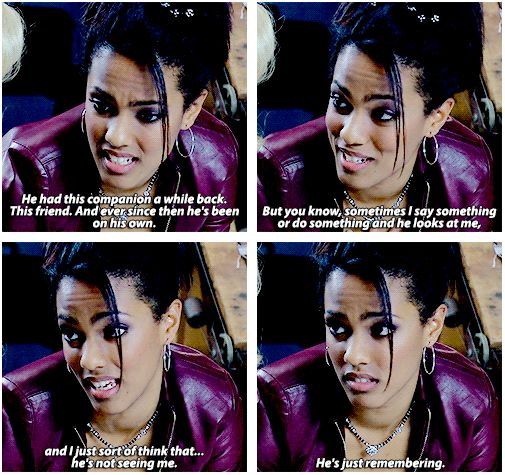 Martha talking about Rose