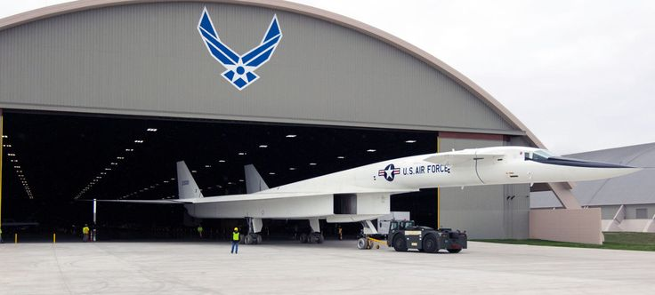 Rare Supersonic Bomber Rolls Out of the Hangar for the First Time in Decades
