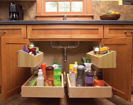 Álom konyha - rendszerezés | Forrás: pinterest.com