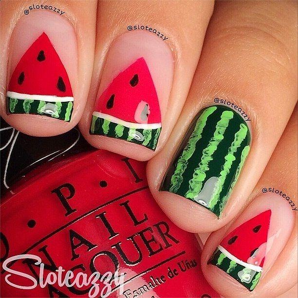 The 25 best watermelon nail art ideas on pinterest watermelon the 15 best ideas about watermelon nail art 20172018 reny styles https prinsesfo Images