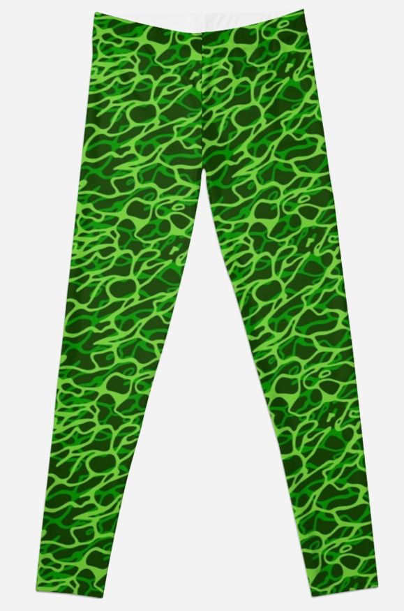 """Green seamless pattern"" Leggings by Stock Image Folio 
