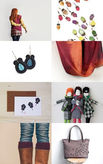 Fall with fun by francesca mosmea on Etsy-- #rockteam