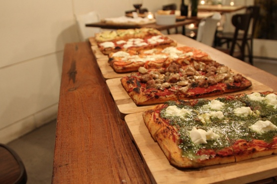 Pizza Roma on Bleecker, cheese and meat plate mm...