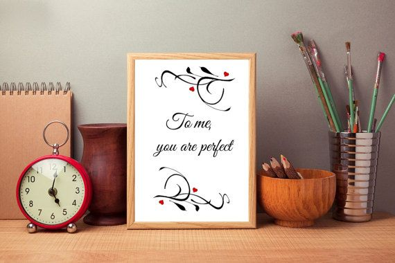 Valentine's day digital print For me you by SimpleWordsByRoxana