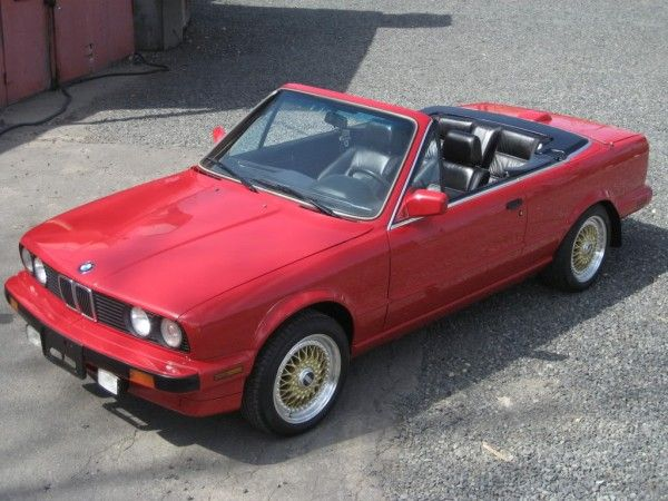 1987 BMW 325 (E30) Convertible Restoration – My Build Garage
