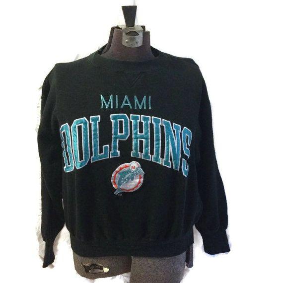 90's Miami Dolphins Sweater / 1990's National by RetroFreshTees, $28.00