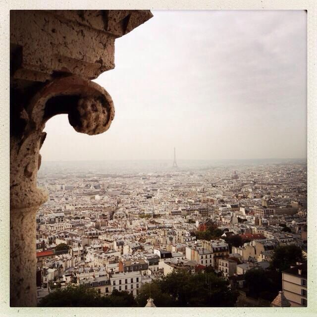 View from Sacre Ceur