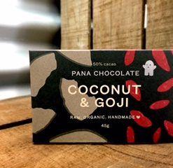 chocolate coconut and goji