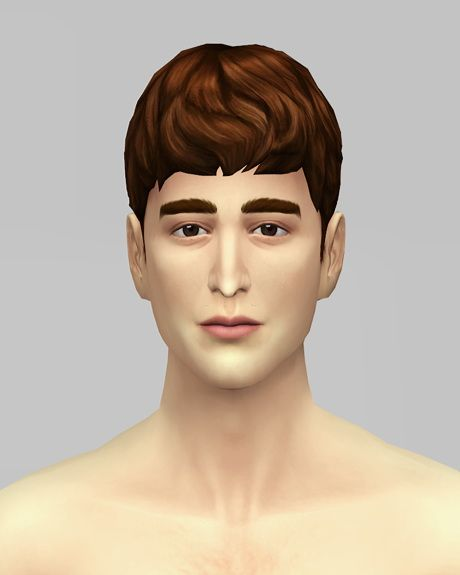 Rusty Nail Beatle Boy Hairstyle Version 2 Sims 4