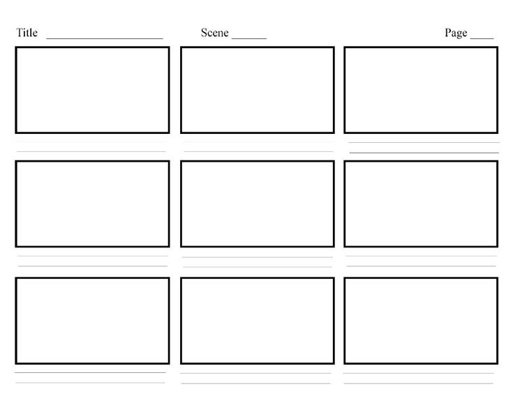 8 best Storyboard Template images on Pinterest Cleaning, Picture - interactive storyboards
