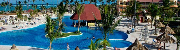 Luxury Bahia Principe Ambar Adults Only, Punta Cana AIl-Inclusive Resort- $1452 includes all meals, Junior Suite Deluxe, Activities. W/O Airfare. +All rooms have canopy bed, sitting area w/sofa, jacuzzi tub, massage shower, balcony, TV, coffeemaker, robe/slippers, AC, fan, safe, minibar +4 Restaurants/ 4 Bars +Exchange program w/ 2 other Grand Bahia resorts -Reservations required +Gourmet menu options +Full service spa -528 Rooms -1 lake style Pool