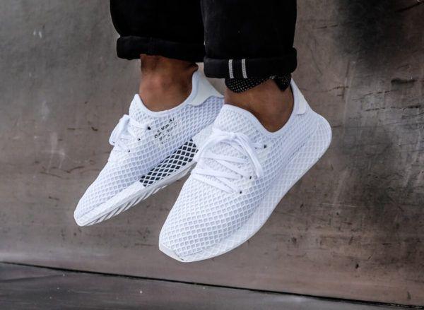 Adidas Deerupt Runner 'Triple White' | Životný štýl