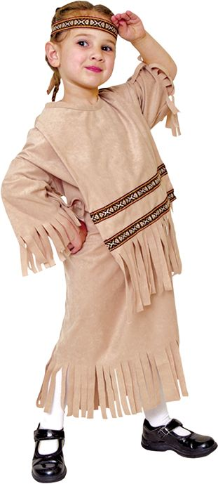 Cool Costumes Indian Girl Child Costume just added...