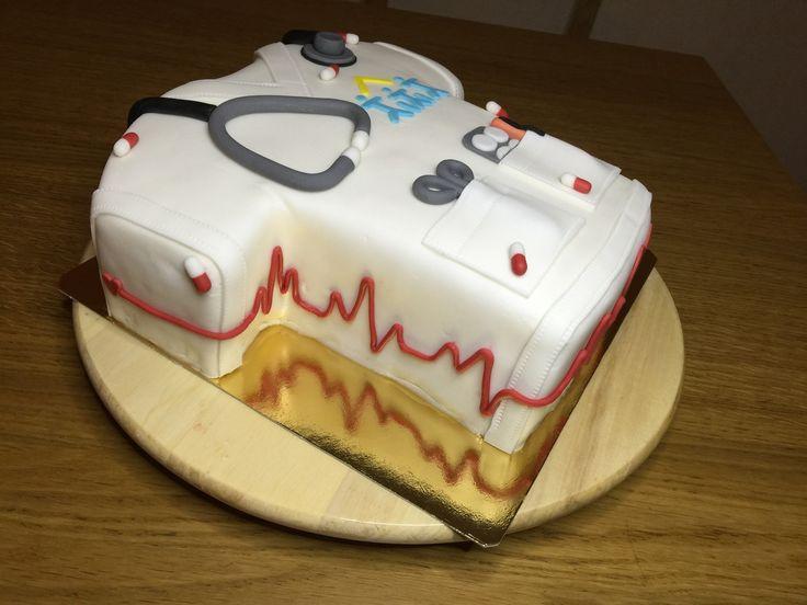 Gâteau blouse Infirmière