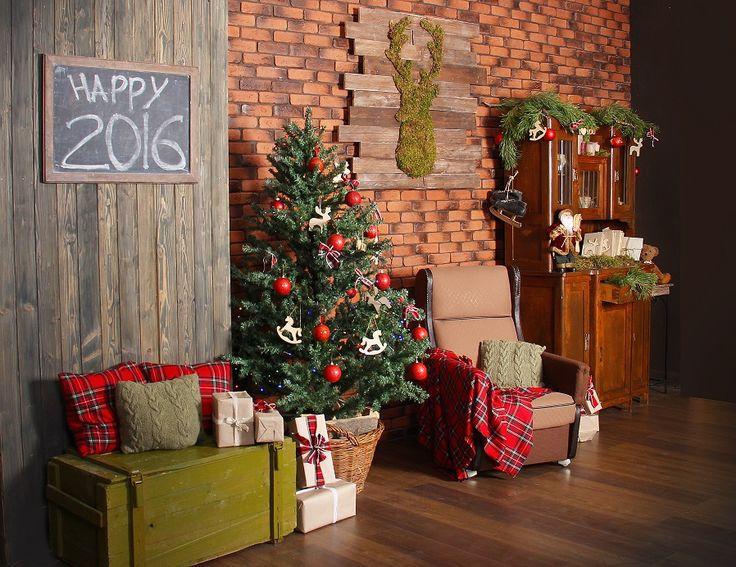 Новогодние интерьеры 2016