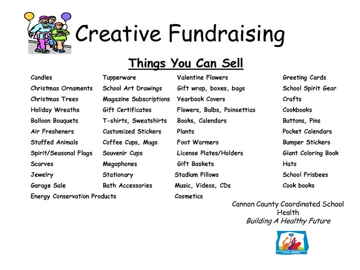 17 best images about fundraising on pinterest raise for Creative items to sell