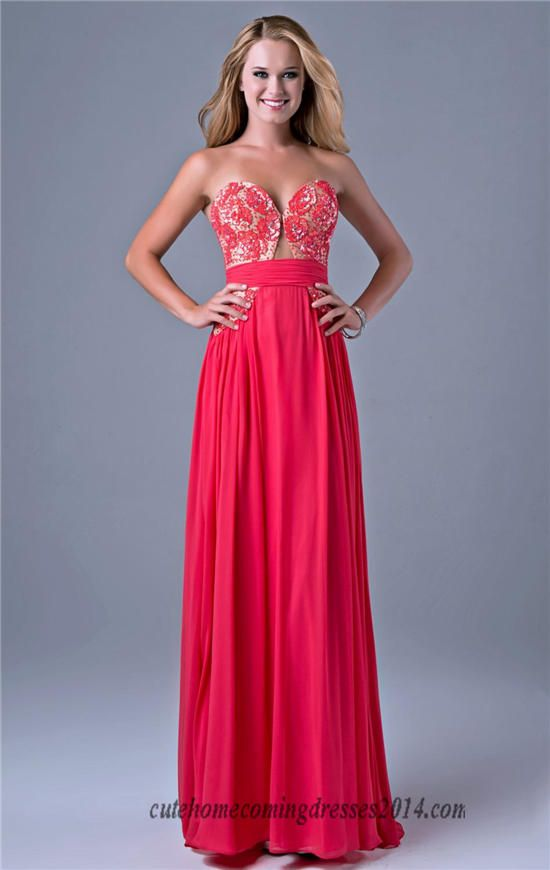 47 best sequin long red prom dresses 2014 images on Pinterest ...