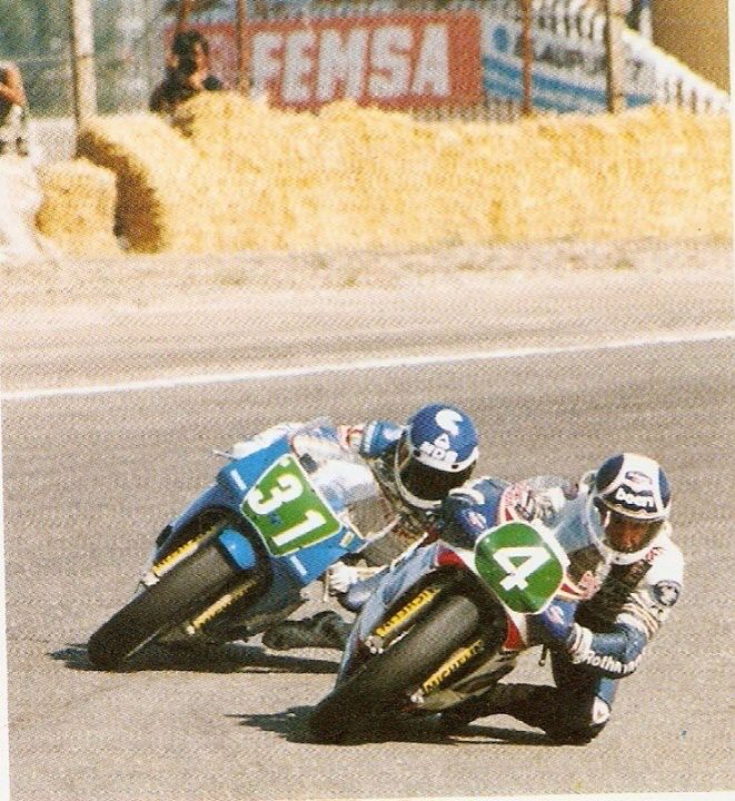 Jarama 1987 Garriga vs Anton Mang