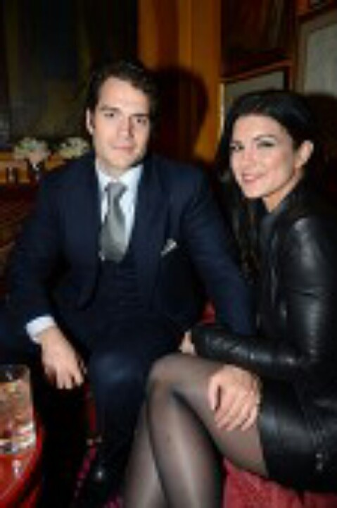 Henry and Gina Carano | Henry | Pinterest | Henry cavill ...