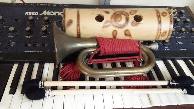 自宅録音研究所|Recording Audio At Home: 動画:Percussions, Bugle and Synthesizer - HomeRecord...