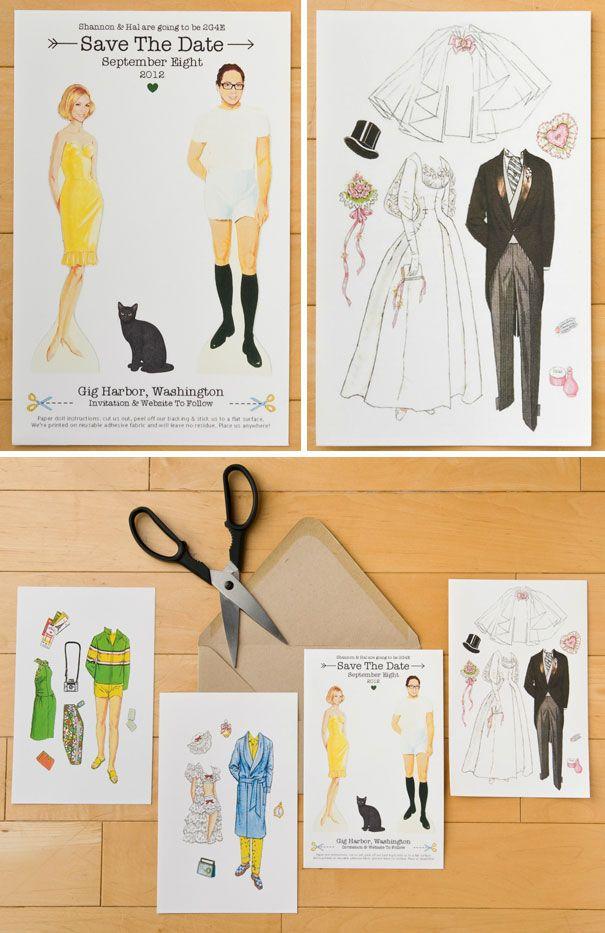 10 Convites De Casamento Extremamente Criativos