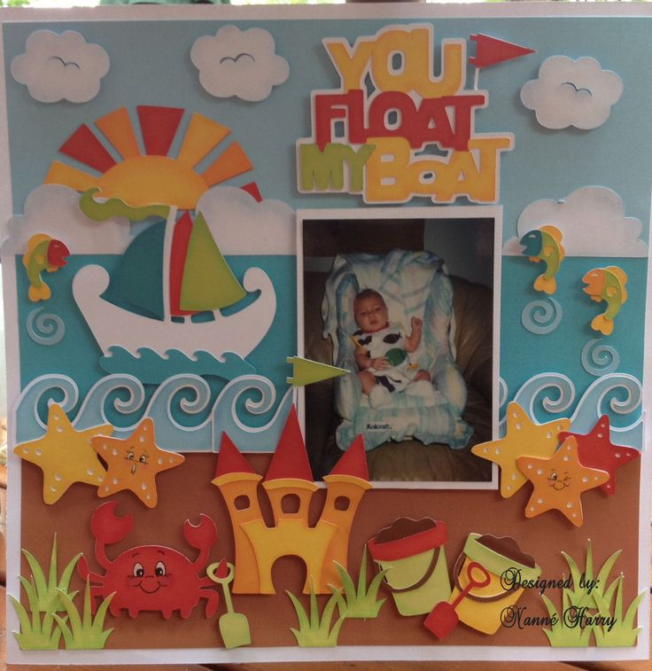 Nanne's Creations: You Float My Boat- SOUS die cut reveal