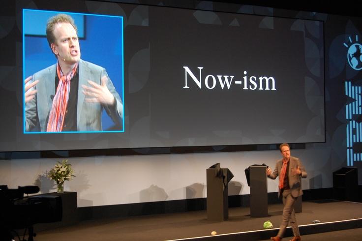 Magnus Lindkvist introduces new words: Now-ism
