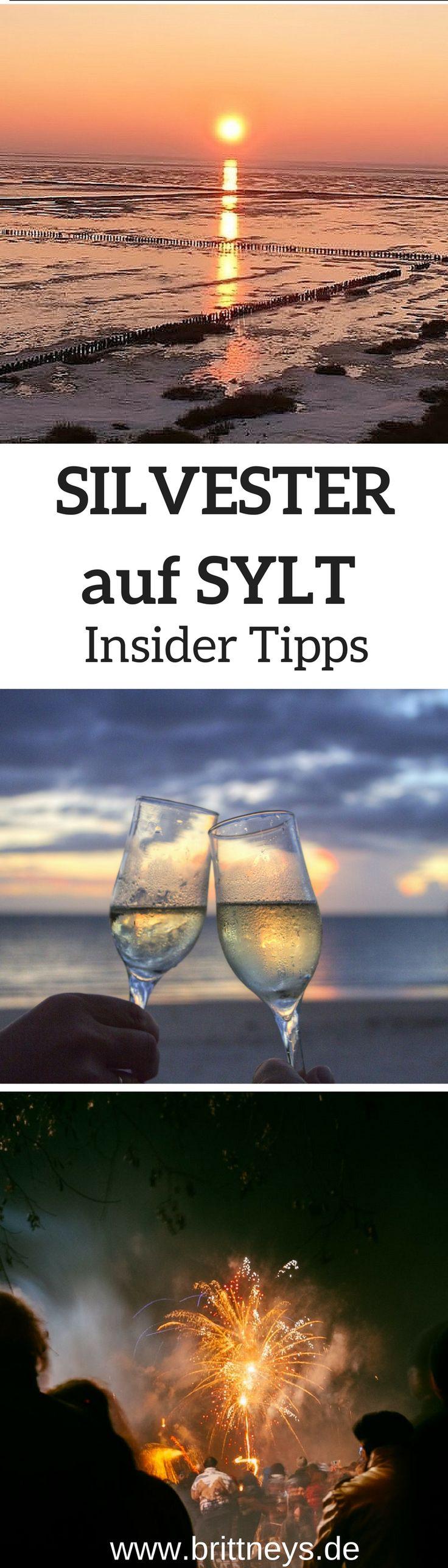 Die ultimative Silvesterfeier auf einer Insel in Deutschland: Silvester auf Sylt. Die perfekten Insider Tipps. #Reisetipp #Sylt #Silvester