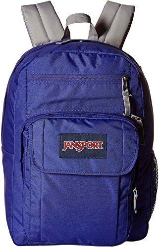 JanSport Digital Student Backpack Violet Purple One Size