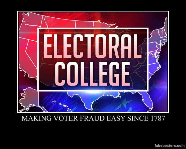 Bigger Fatter Politics: Abolish the Electoral College