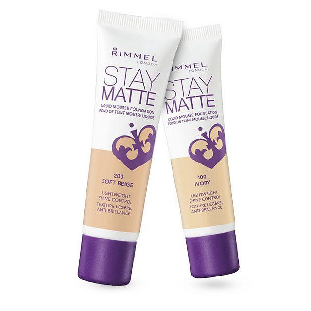 Rimmel London Stay Matte Liquid Mousse Foundation Review