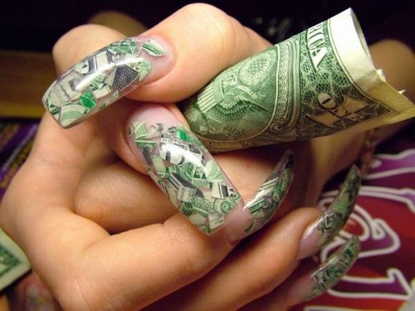 exotic nails with nail jewelry | 68] - 177 Best Nail Designs Images On Pinterest Crazy Nails, Long