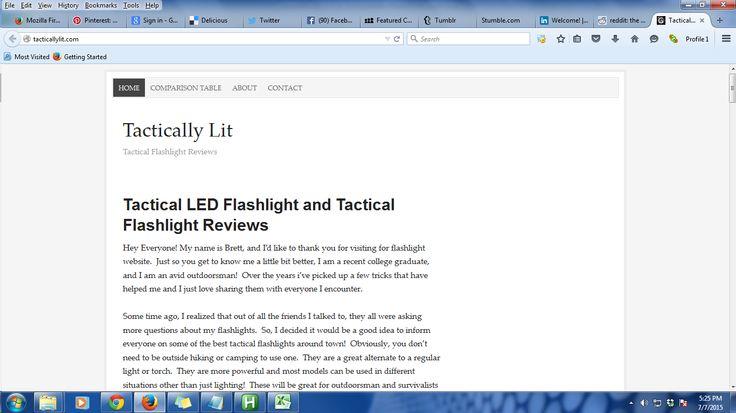 best tactical flashlight | My websites