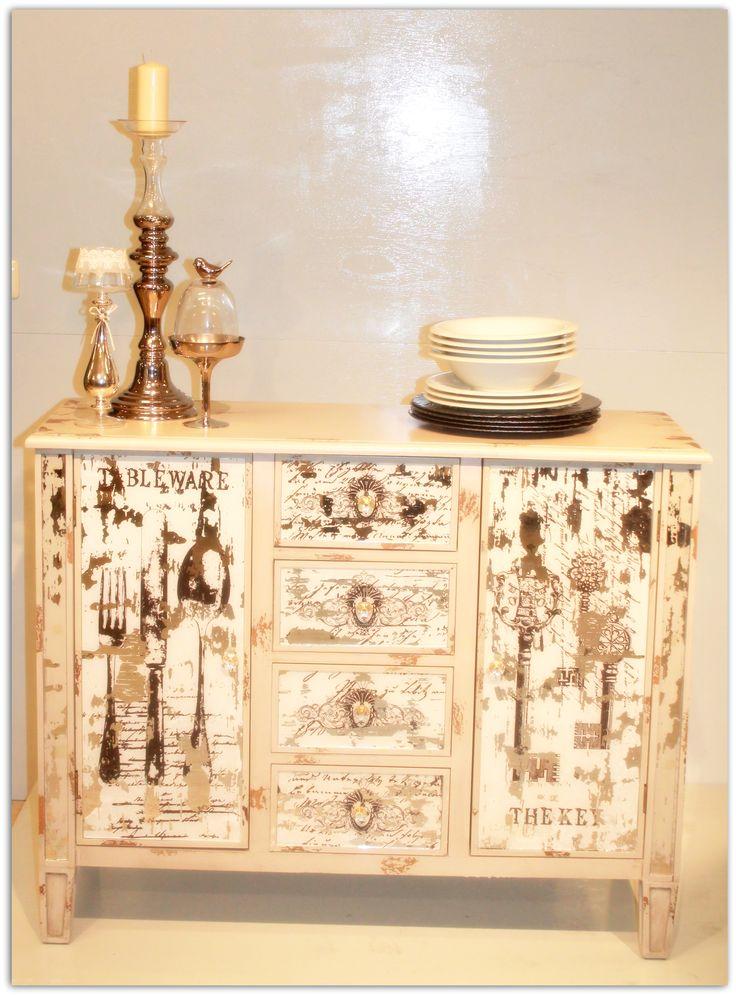 mueble vintage cubiertos
