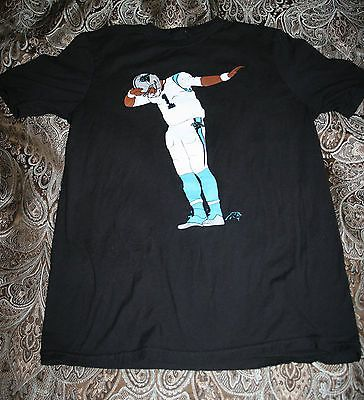 Cam Newton Dab Dabbing Carolina Panthers short-sleeve t-shirt size Kids XL (18)
