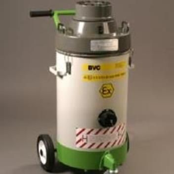 Type 'H' version of the BVC IV40 'INDY' industrial vacuum cleaner (shown with optional trolley). 110v and 230v versions of this Type 'H' industrial vacuum cleaner are available. 40 litre bin gives longer running time before emptying. Robust metal construction for long life – a true 'industrial' vacuum cleaner. Disposable paper or micro-porous collection bag options for safe, simple debris disposal.