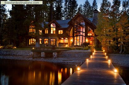 I love Lake Tahoe architecture