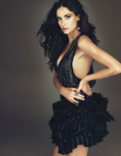 Love: Style, Beautiful Women, Dress, W Magazine, Beautiful People, Photo, December 2009, Demi Moore