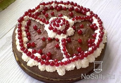 Kakaós-diós torta