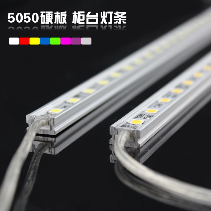 IP65 Waterproof 50CM LED Counter Rigid Bar LED Strip Jewelry Counter Lighting Home Decoration LED Bar 5050 12V LED 10PCS/Lot
