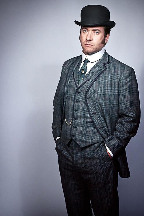 Matthew MacFadyen as D.I. Edmund Reid from Ripper Street