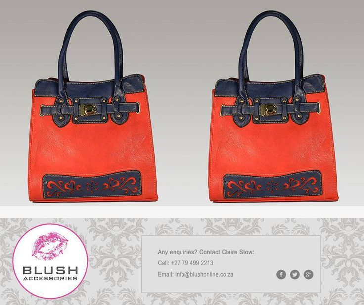 This stunning handbag is perfect for any lady out there. It's great for the office and even better for a night out with the #Girls. Get yours now at #Blush #Handbags
