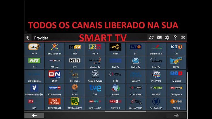SKY, NET e OI TODOS OS CANAIS LIBERADOS EM SUA SMART TV.