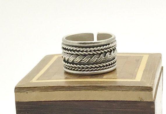 Bague anneau  homme argent 925 sterling par madewithloveinaiaciu