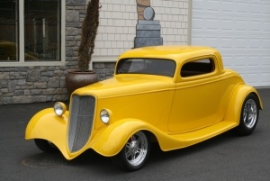 33 ford coupe is this the dick tracy car hot rods. Black Bedroom Furniture Sets. Home Design Ideas