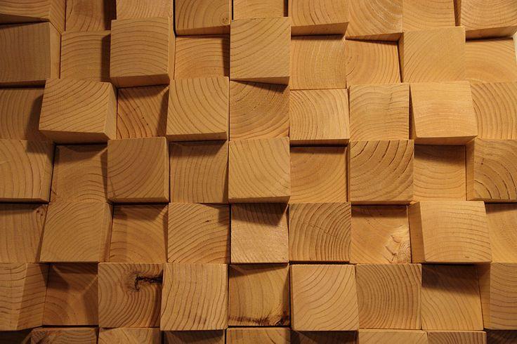 Panel difusor acústico madera