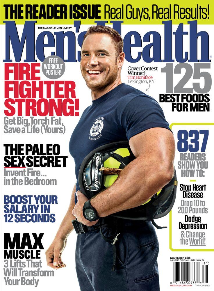 Tim Boniface Is the Ultimate Men's Health Guy  http://www.menshealth.com/best-life/tim-boniface-ultimate-mens-health-guy